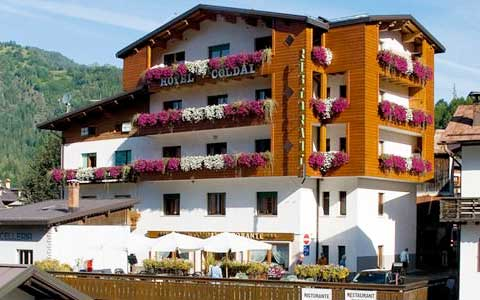 Hotel Coldai in Alleghe